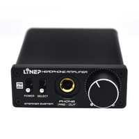 Dual Input 6 5 Mm Output Mini Amplifier High Power Stereo Audio Amplifer Desktop Class A