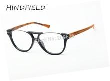HINDFIELD ojo marcos de los vidrios de las mujeres Gafas Gafas de Marca Óptica Marco De montura de gafas de La Miopía gafas de sol hombre