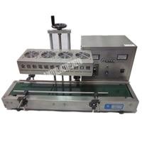Alta-qualidade totalmente automático máquina de selagem de boca de garrafa máquina de selagem de indução eletromagnética contínua 110v/220v 2.4kw