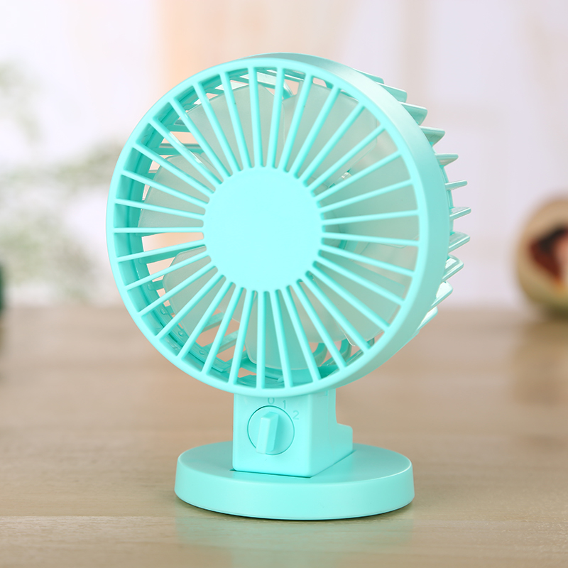 Small Air Conditioning Appliances Fans Mini Desktop Usb Fan Dc5v 4000mah Inner Battery Long Working Time Desktop Ventilator 3 Colors 5 Speed Portable Fan Drip-Dry