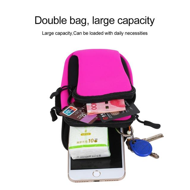 2018 Running Sport Bags Men Women Mobile Phone Arms Package Sport Equipment Jogging Run Bag Accessories Outdoor Climbing Arm Bag 5