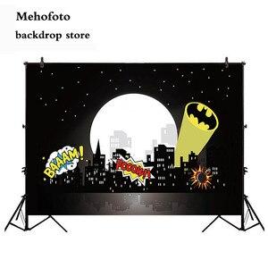 Mehofoto, супер герой, городской пейзаж, фоны для фотосъемки, супер герой, город, фон для фотосъемки, тематические вечерние фоны на день рождения ...