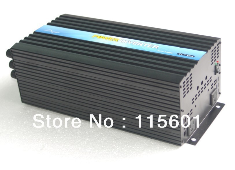 CE&SGS Approved Factory Direct Supply 4KW 24vdc to 110vac Home Power Inverter With High Efficiency>90%CE&SGS Approved Factory Direct Supply 4KW 24vdc to 110vac Home Power Inverter With High Efficiency>90%