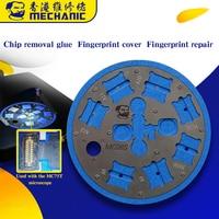 Multifunktionale Mikroskop Kleber Entfernung Plattform Fingerprint Sensor Reparatur Basis für iPhone 6/6 P/6SP/7/ 7 P/8/8 P/A8/A9/A10/A11/A12-in Handwerkzeug-Sets aus Werkzeug bei