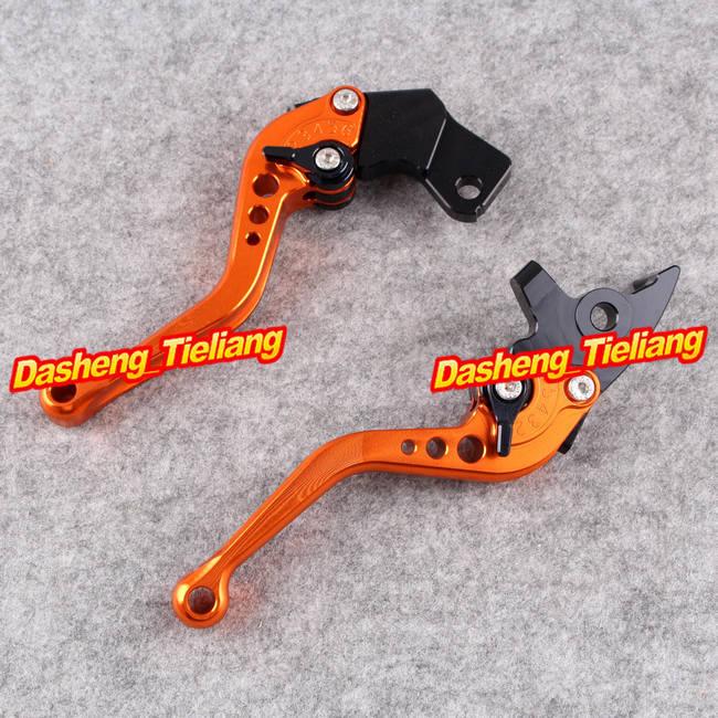 Motorcycle Short Brake Clutch Levers for KTM Duke 200 125 2012 2013, Orange Color фен технический bosch phg 630 dce 2000вт