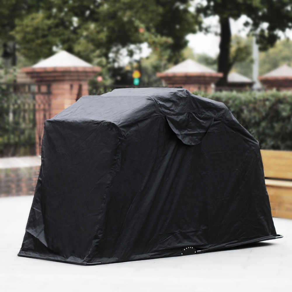 VEVOR Motorcycle Cover Rain Waterproof Shelter Tent 120055 Hoods for Vehicles