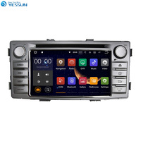 YESSUN Android Radio Car DVD Player For TOYOTA Hilux 2012 2016 Stereo Radio Multimedia GPS Navigation With WIFI Bluetooth AM/FM