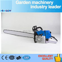 ms660 with 18 inch bar and chain professional 92cc gasoline chainsaw with good quality factory sold free shipping orange &gray(China)