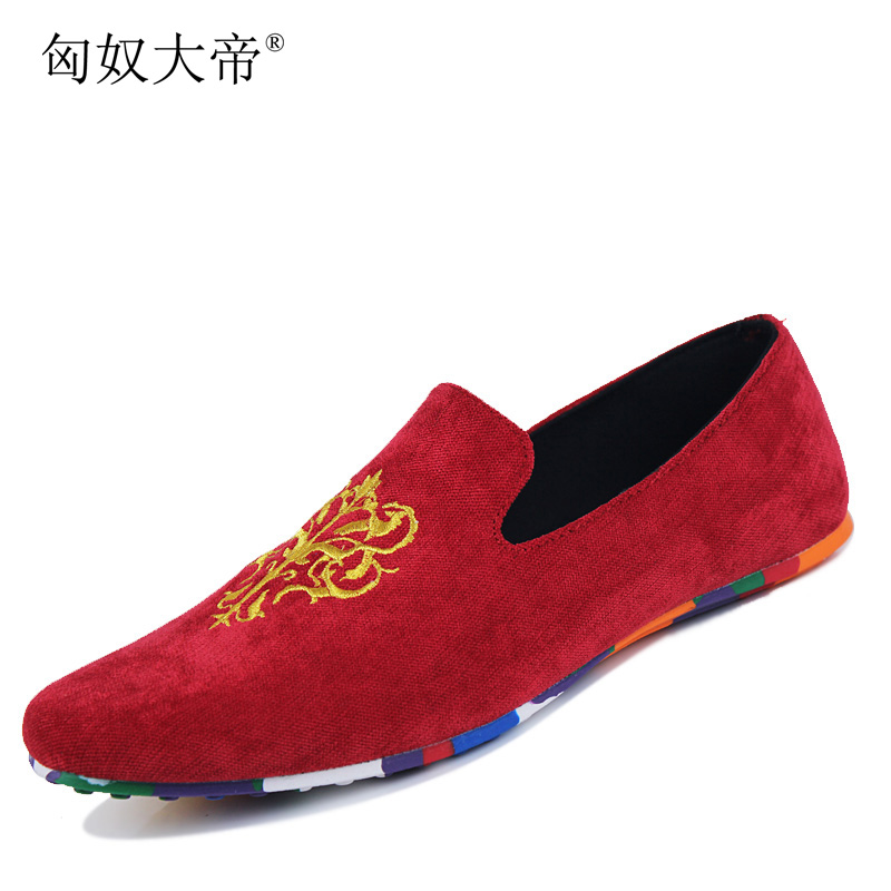 d59f5626abd fashion suede men shoes soft leather flat shoes casual slip on moccasins men  loafers hight quality driving flats-in Men s Casual Shoes from Shoes on ...