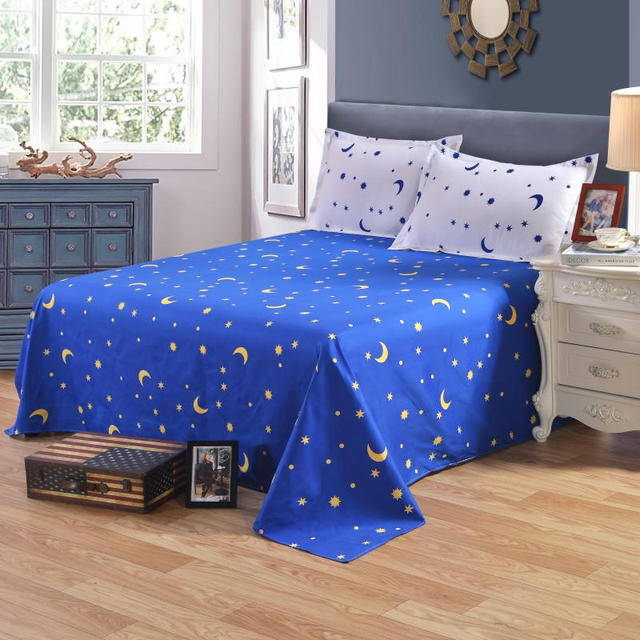 Colorful Bed Sheet Twin Full King Size Single Double sheets for kids ...