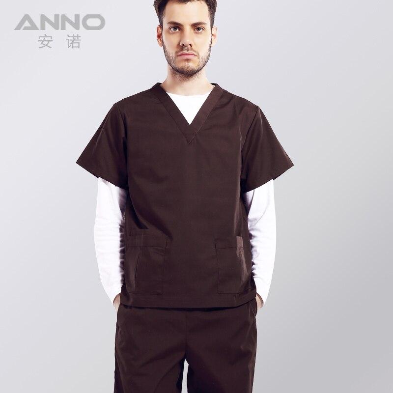 Free shipping medical uniform oem scrubs set women scrubs for Spa uniform cotton