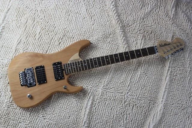 wholesale Top quality washburn Nuno Betancourt model n4 betancourt burlywood Electric Guitar -8-10
