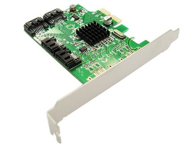 Marvell Chipset 4 Ports SATA 6Gbps PCI-Express Controller Card PCI-e - Համակարգչային բաղադրիչներ - Լուսանկար 4