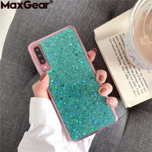 Crystal Bling Glitter Cases For Huawei Honor V10 V20 8X 8 9 10 Lite Play Nova 2 Plus 2S 3 3i 4 Pro Y6 Y9 2018 View 20 Back Cover(China)