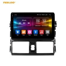 Feeldo 10.1 дюймов Android 6.0 (64bit) восьмиядерный DDR3 2 г/32 г/FDD 4 г автомобильный DVD GPS Радио головное устройство для Toyota vios/Yaris L 2013-2015