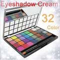 32 color impermeable belleza sombra de ojos crema desnuda set shimmer paleta de sombra caliente maquiagem Cosmetics naras