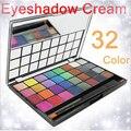 32 cores à prova d ' água beleza de sombras nu creme maquiagem set shimmer paleta de sombra quente maquiagem cosméticos naras