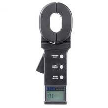 ETCR2000A Digital Clamp On Ground Earth Resistance Tester circuit resistance meter lightning protection grounding measurement