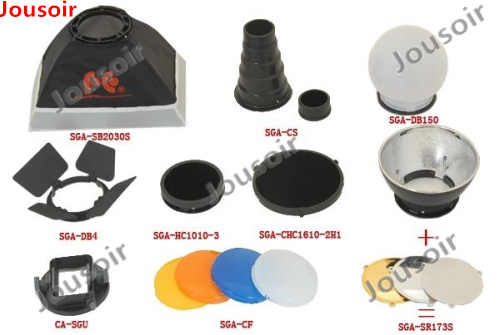 FALCON EYES Softbox Flash Diffuser Adapter Kit Phụ Kiện cho K9/K-9 Phổ Núi CA-SGU Speedlite cho SGA-K9 cho C N CD50