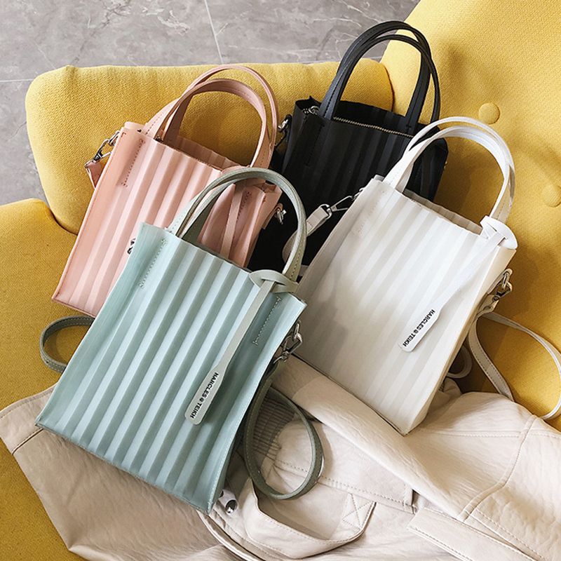 Luxury Handbags Autumn New Single Handbag Women Bags Designer Fashion Transparent for 2019