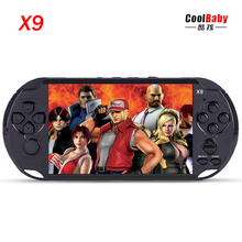 5.0 Large Screen 8GB Handheld Video Game Console Player Support TV Out With MP3 Movie Camera Built-in Hundreds of Games