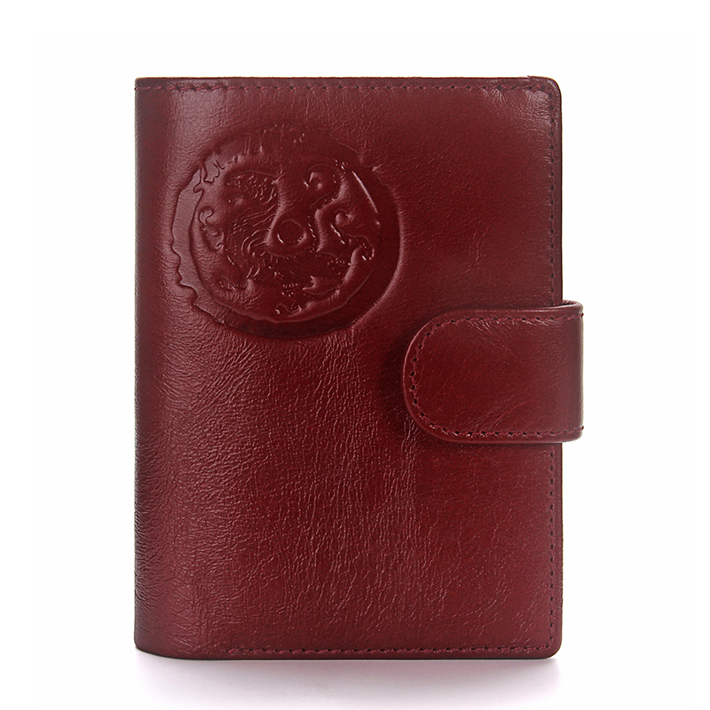 CONTACT\'S Passport Cover Women\'s genuine leather purse business card ...