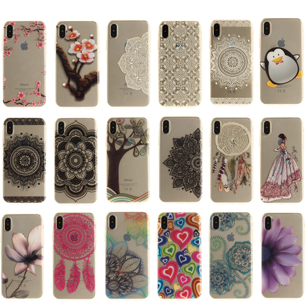 Cartoon Pattern Soft TPU IMD Silicone Phone Back <font><b>Case</b></font> Cover <font><b>For</b></font> <font><b>Lenovo</b></font> S90 <font><b>S</b></font> <font><b>90</b></font> S90T S90-T Back Cover TX image