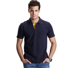 New Turn Down Collar Summer Casual Men's T Shirt