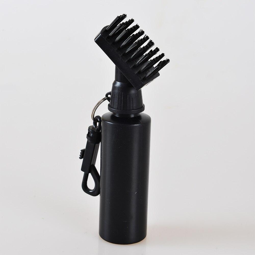 Golf Club Scrub Wet Cleaning Brush Golf Iron Ball Cleaning Brush Golf Cleaner With Water Bottle Free Shipping