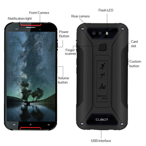 "Image 3 - CUBOT Quest Lite 4G IP68 Móvil Todorerreno para Viajes IP68 Deporte Smartphone Impermeable MT6761 5,0 ""3 GB + 32GB 3000mAh Android 9,0 pastel 4G LTE Dual Cámara 13MP Type C identificación facial"