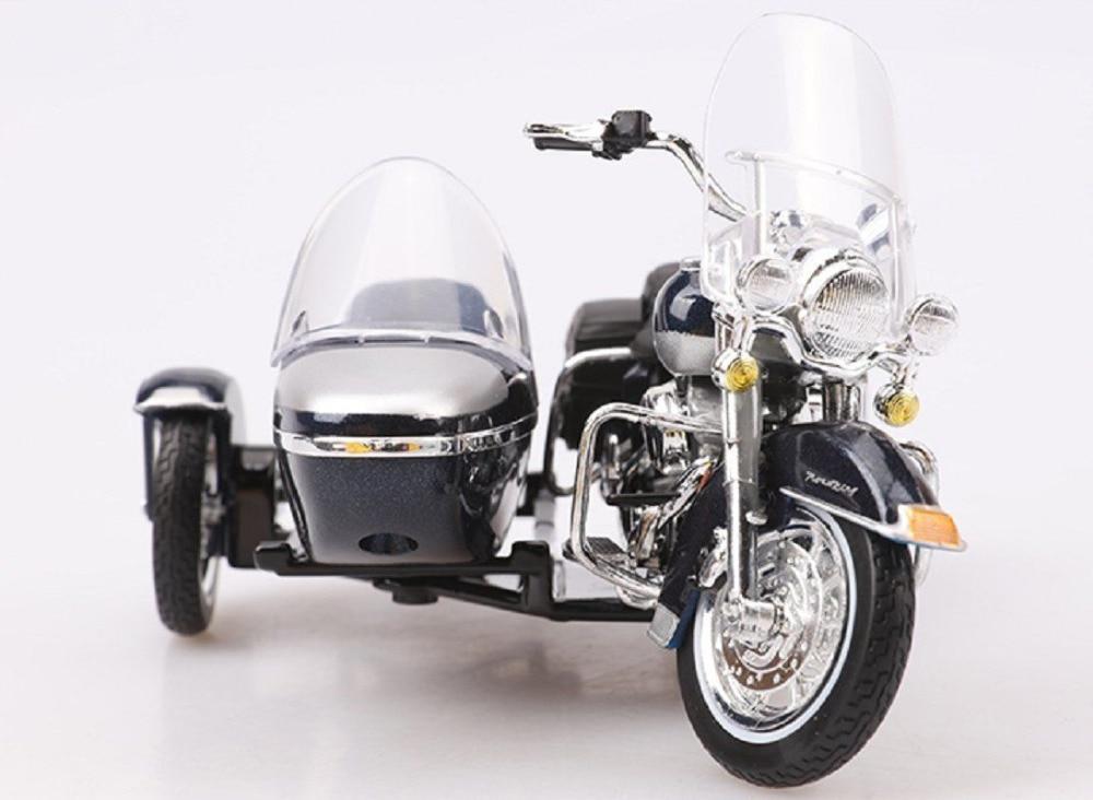 Maisto 1:18 Harley 2001 FLHRC ROAD KING SIDECAR Motorcycle Diecast Metal Bike Model Free Shipping 07 13 harley flhrc mustang fender bib plain