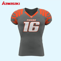 Kawasaki Personalizzata Giovani e Mens USA Collage di Football Americano pullover Traspirante Esercizio Sports Team Wear Plus Size XS-4XL