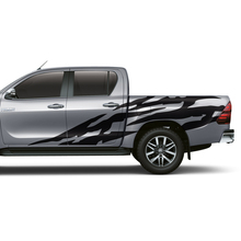 2 PC body rear tail side graphic vinyl modified ca sticker for TOYOTA HILUX