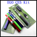 best eGo CE5 starter kit electronic ecigarette CE5 vaporizer e cigarette ego t Battery eGo CE5 e cigs Blister Free Shipping