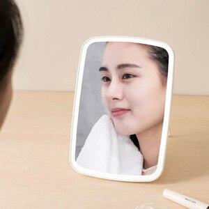 Image 2 - YouPin jordan & judu Intelligent portable makeup mirror desktop led light portable folding light mirror dormitory