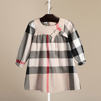 Brand New 3 7 Years Girls Dress Summer Stripe Dresses Cotton Casual Long Tops Kids Clothing