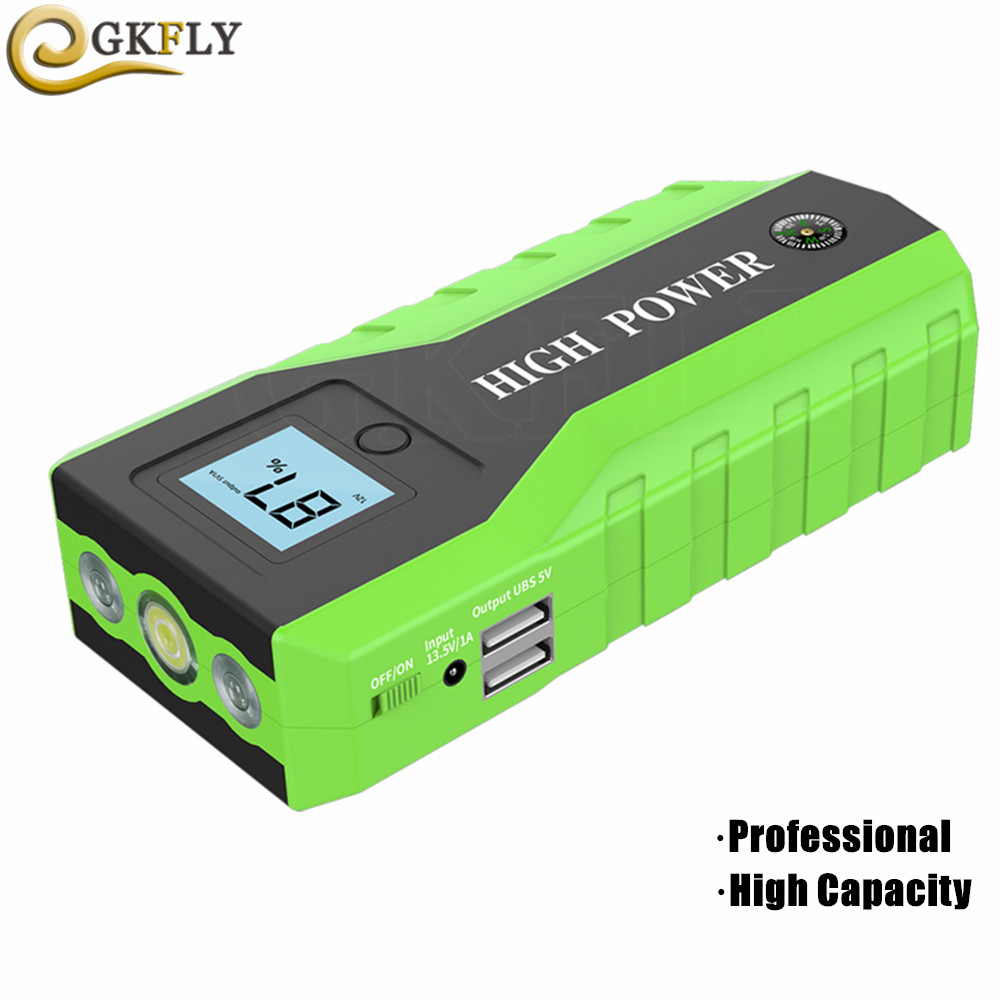 High Power Car Jump Starter Multifunction Charger Battery Emergency Portable Power Bank Pack Booster Buster 12V