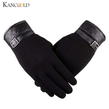 KANCOOLD Gloves Men Thermal Winter Motorcycle Ski Snow Snowboard Gloves high quality Cotton casual gloves men 2018NOV23 1