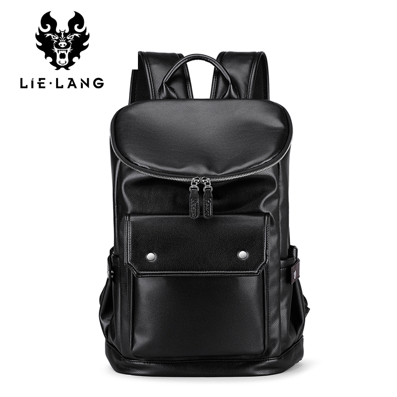 Men's Backpack Laptop Travel-Bag Anti-Theif Korea-Style High-Quality Male Casual