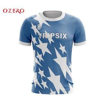 sublimation blank Custom soccer jersey kit professional design football team shirt quick dry breathable mens football jerseys