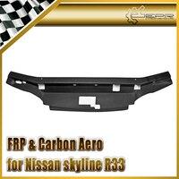 Samochód stylizacji FRP Włókna Szklanego Garaż Panel Bronić Styl Chłodzenia (Spec 1 tylko) Silnik z włókna szklanego Przycinania Nissan Skyline R33 GTS