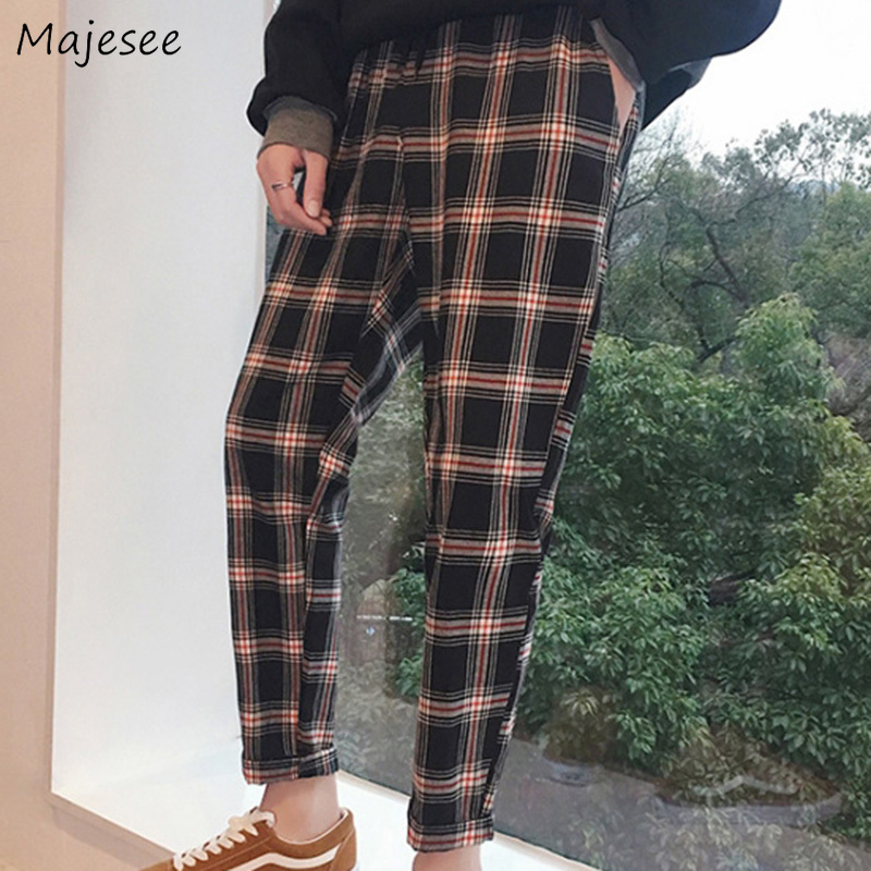 Pants Men Loose Ankle-length Pockets Leisure Daily Simple All-match Korean Style Cargo Pant Mens Hip Hop Trousers Chic Trendy Cargo Pants Pants
