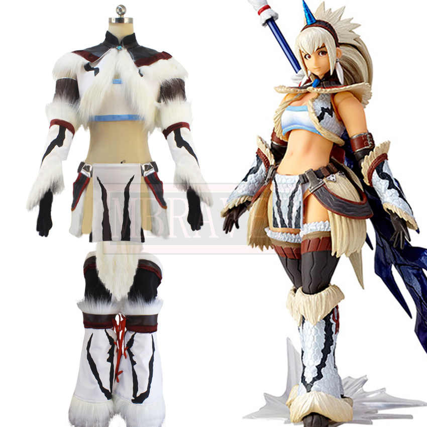 Mh4 Monster Hunter 4 Kirin Hunter Female Women Swordsman Cosplay