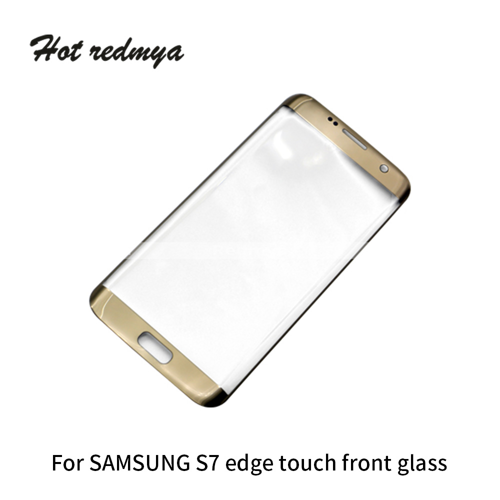 1pcs Original Touch Screen Panel For Samsung Galaxy S7 Edge G935 5 5 inch Front Glass Front Outer Glass Lens Replacement Parts in Mobile Phone Touch Panel from Cellphones Telecommunications