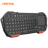 Seenda Mini Bluetooth 3 0 Keyboard With Touchpad For Computer Laptop Mini Keyboard For Phone TV