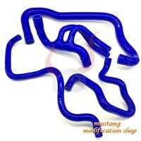 car silicone hose Radiator Fit High quality FOR PEUGEOT 106 GTI / CITROEN SAXO VIS 16V Black blue red