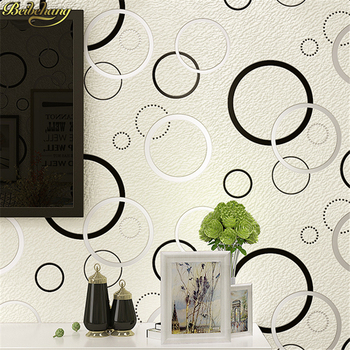 beibehang papel de parede 3d European deerskin geometric circle  Embossed Wallpaper Roll for Bedroom Living Room wall paper roll