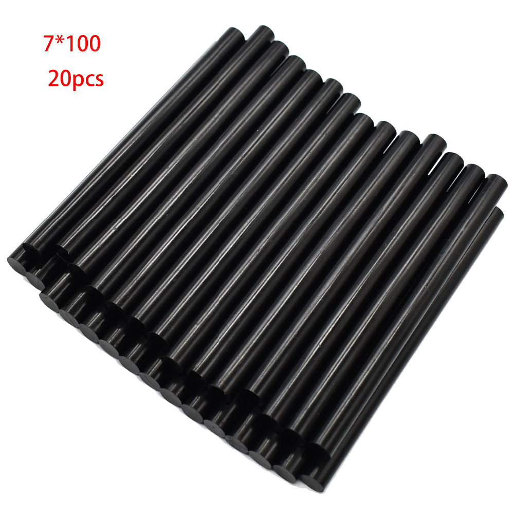 20Pcs 7x100mm Hot Melt Glue Sticks For 7mm Glue Guns Auto Repair Craft Tools Car Dent Paintless Hand Tools