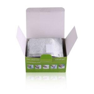 Image 5 - Venta al por mayor de alta calidad 100 Uds. 200 Uds Nail Art Polish Removal  FOIL GEL WRAPS REMOVER SOAK OFF acrílico, 10,5*8,5 CM/Uds