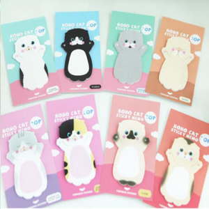Image 2 - 32 pcs/lot Cat N Times Memo Pad Sticky Notes Cute Animal Bookmark Stationery Label Stickers School Supplie Notepad escolar